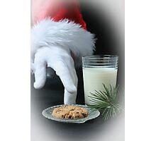 ~ Santa's Snack ~ Photographic Print
