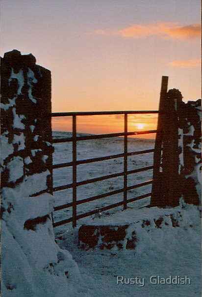 Sunset at Wuthering Heights by Rusty  Gladdish