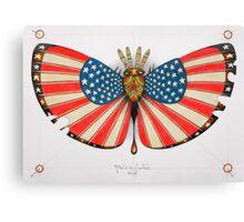 patriot moth - original sold Canvas Print