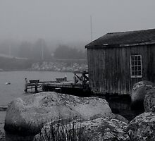 The Fishing Shack by Scott Ruhs