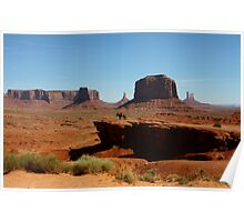 Ford Point in Monument Valley,AZ Poster