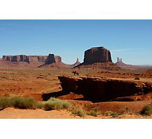 Ford Point in Monument Valley,AZ Photographic Print