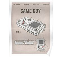 Gameboy Patent Poster