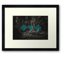 Collapse/Collab II Framed Print