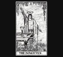 The Magician Tarot Card - Major Arcana - fortune telling - occult by createdezign