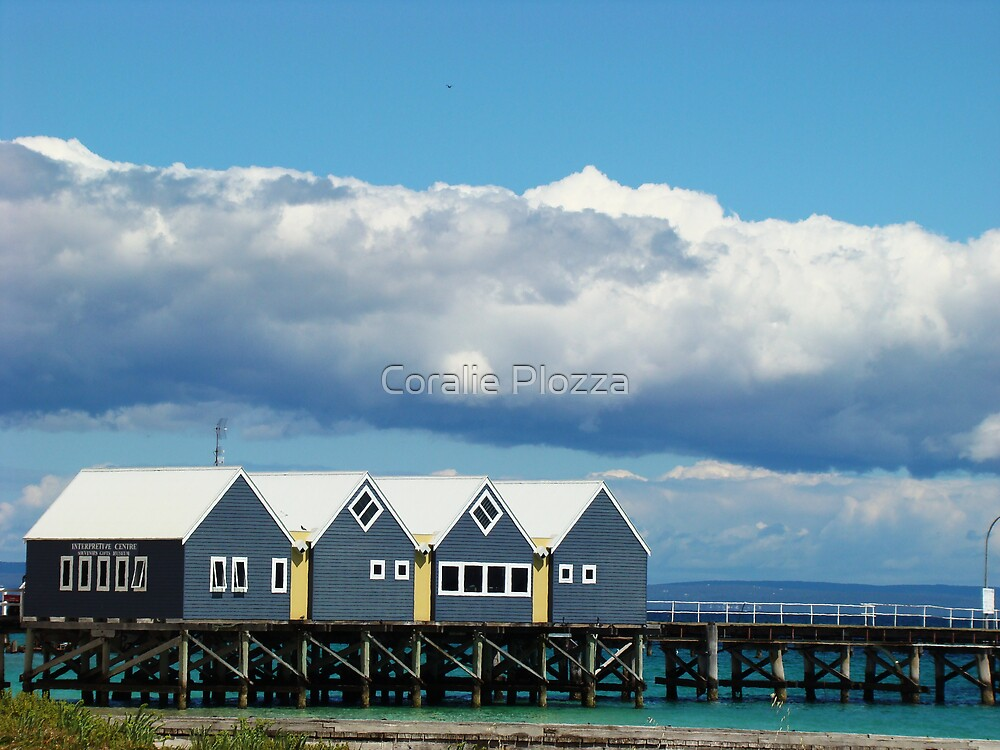 Busselton Jetty View by Coralie Plozza