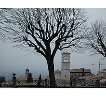 Umbrian Winter Photographic Print
