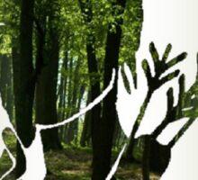 Katniss Everdeen in the Woods Sticker