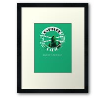 Rapture Radio Framed Print