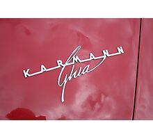 Karmann Ghia Photographic Print