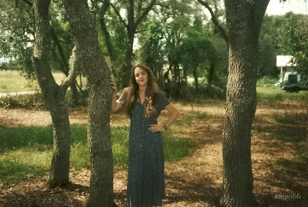 Karyn and the Trees by karen66