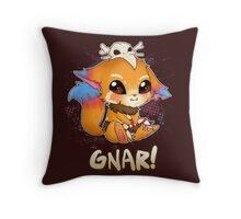 GNAR chibi - League of Legends Throw Pillow