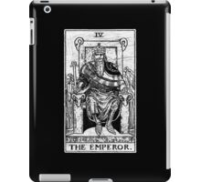 The Emperor Tarot Card - Major Arcana - fortune telling - occult iPad Case/Skin