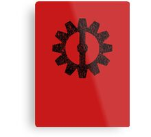 Mechanist Flag Metal Print
