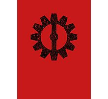 Mechanist Flag Photographic Print