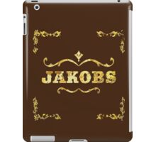 Jakobs gold leaf design  iPad Case/Skin