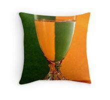 Refraction Glass Throw Pillow