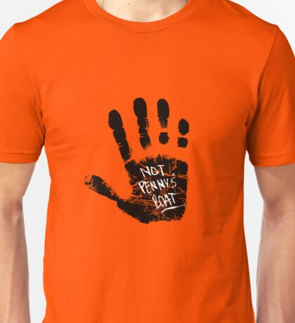 Not Penny's Boat (small print) Unisex T-Shirt