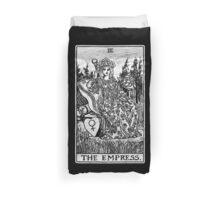The Empress Tarot Card - Major Arcana - fortune telling - occult Duvet Cover