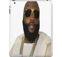 Low Poly Rick Ross iPad Case/Skin