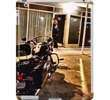 Route 66 Motel and Harley Davidson  iPad Case/Skin
