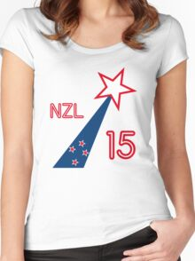 NEW ZEALAND STAR Women's Fitted Scoop T-Shirt
