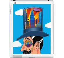 The Man who Couldn't Dream (with his head in the clouds) iPad Case/Skin