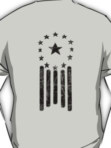 Old World America Flag [BLACK] T-Shirt
