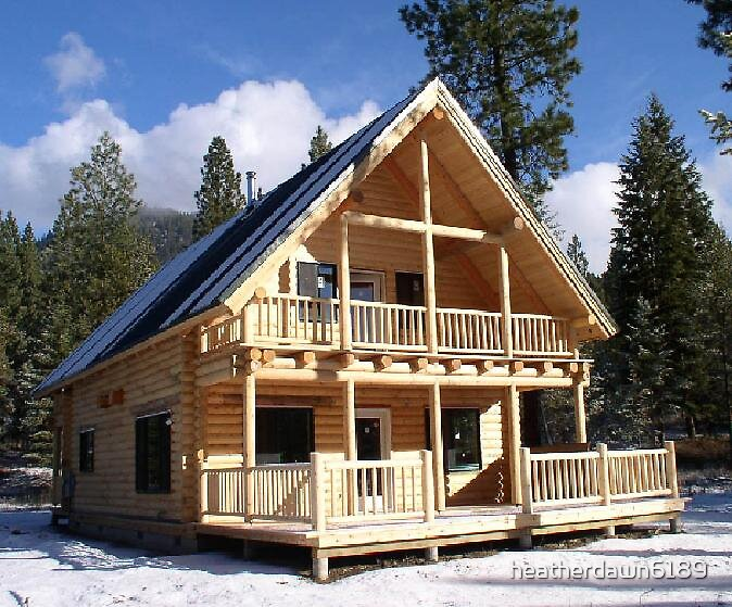 Cabin.. by heatherdawn6189