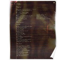005 - Scattered Resistance -  Poetry Full Page Poster