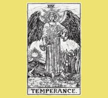 Temperance Tarot Card - Major Arcana - fortune telling - occult Kids Clothes