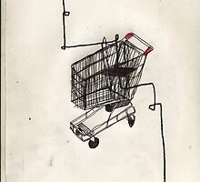 shopping trolley by mrrazzledazzle