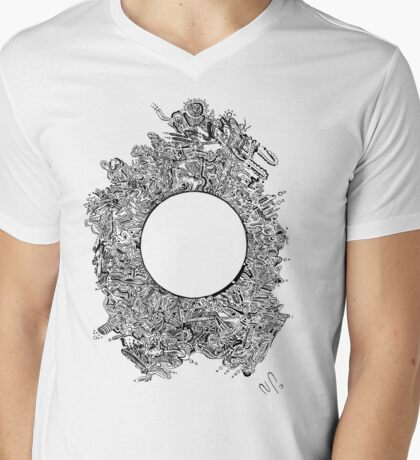 The void Mens V-Neck T-Shirt