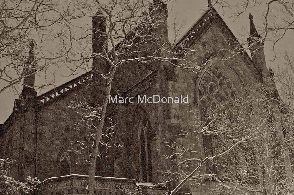 Winter Church by Marc McDonald