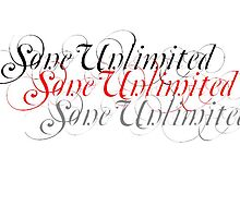 caligraphy sone unlimited by steve young