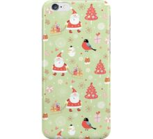 Cute Christmas Pattern iPhone Case/Skin