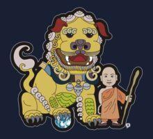 Golden Lion Tamer by thickblackoutline