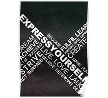 Express Yourself - Typography Poster