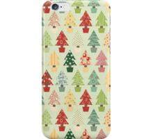 Christmas Trees Pattern iPhone Case/Skin