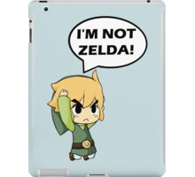 I'm Not Zelda iPad Case/Skin