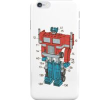 Optimus Prime Transformers Patent  iPhone Case/Skin