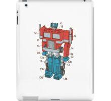 Optimus Prime Transformers Patent  iPad Case/Skin
