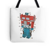 Optimus Prime Transformers Patent  Tote Bag