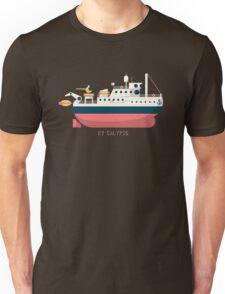Minimalist Jacques Cousteau's Research Vessel Calypso Unisex T-Shirt
