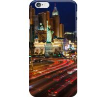 The strip at night iPhone Case/Skin
