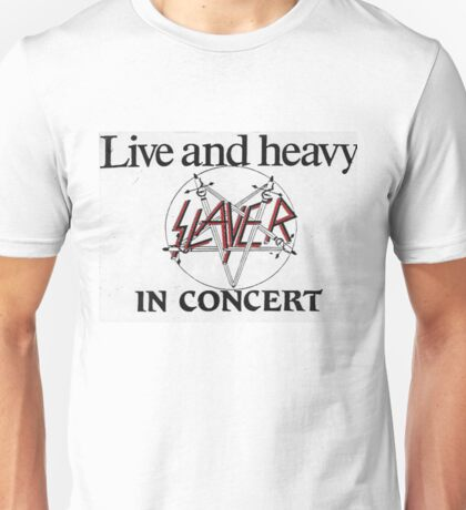 Live and Heavy Unisex T-Shirt