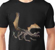 Gray Dragon Unisex T-Shirt