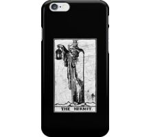 The Hermit Tarot Card - Major Arcana - fortune telling - occult iPhone Case/Skin