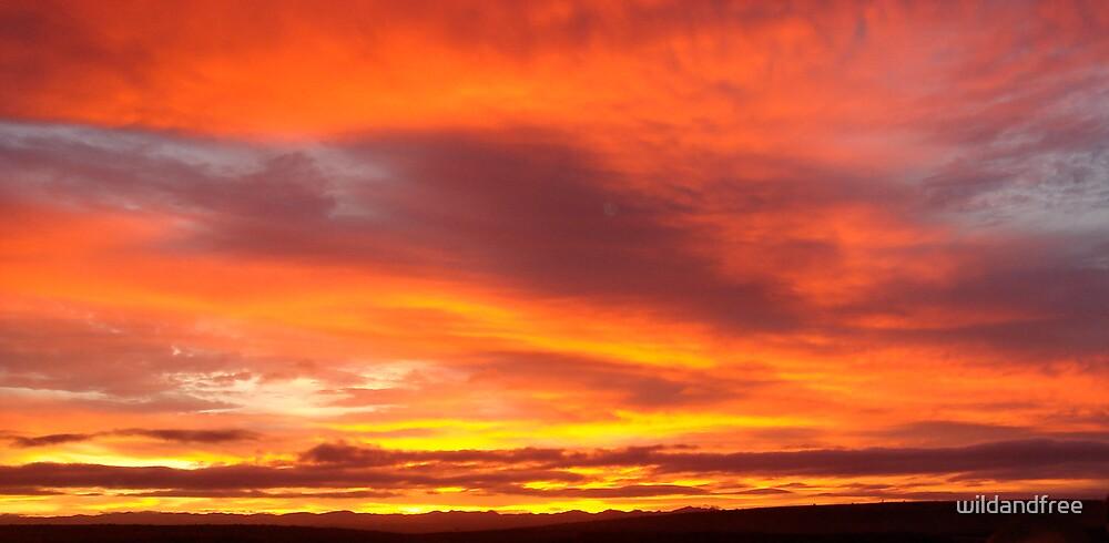 Namibian Sunrise by wildandfree