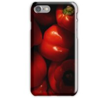Luscious Red Peppers iPhone Case/Skin